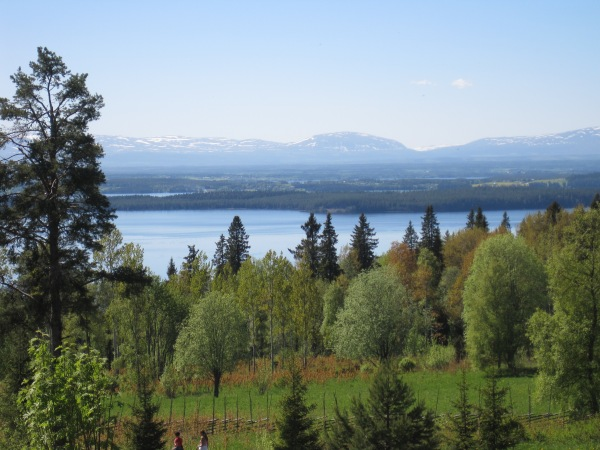 Mountains in my home county, Jämtland