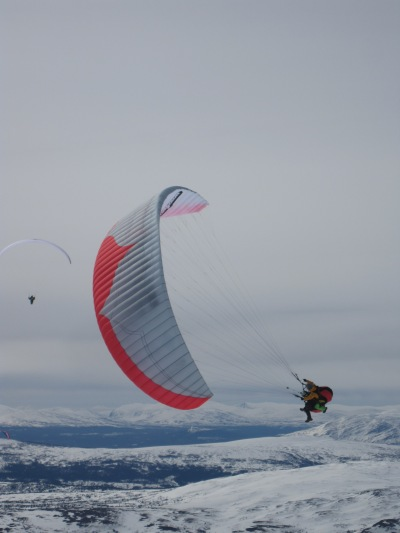 Paragliding in Åre Mountains