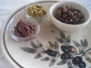 Olives and Tapenade in Crete, Greece...