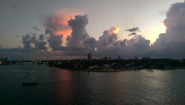 Fort Lauderdale at sunrise...