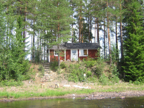 My mountain hut in Dalecarlia, Sweden...