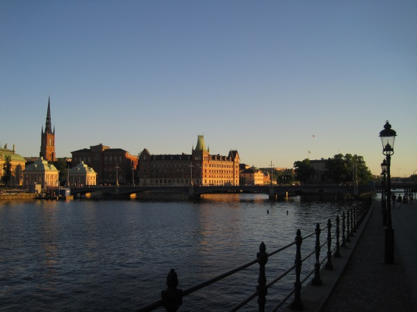 Stockholm in July...