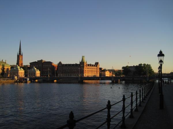 Stockholm in July...