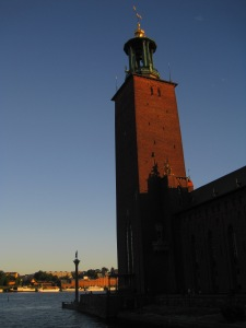 The City Hall of Stockholm