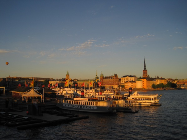 Summer Night in Stockholm, Sweden