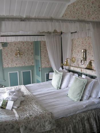 Honeymoon Suite at Åkerblad's Hotel, Tällberg, Sweden