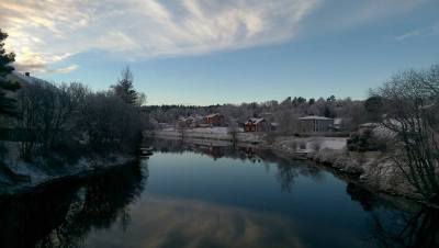 Winter in Jämtland, Sweden...