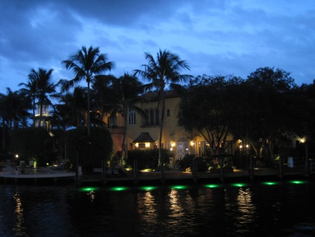 Fort Lauderdale at sunset